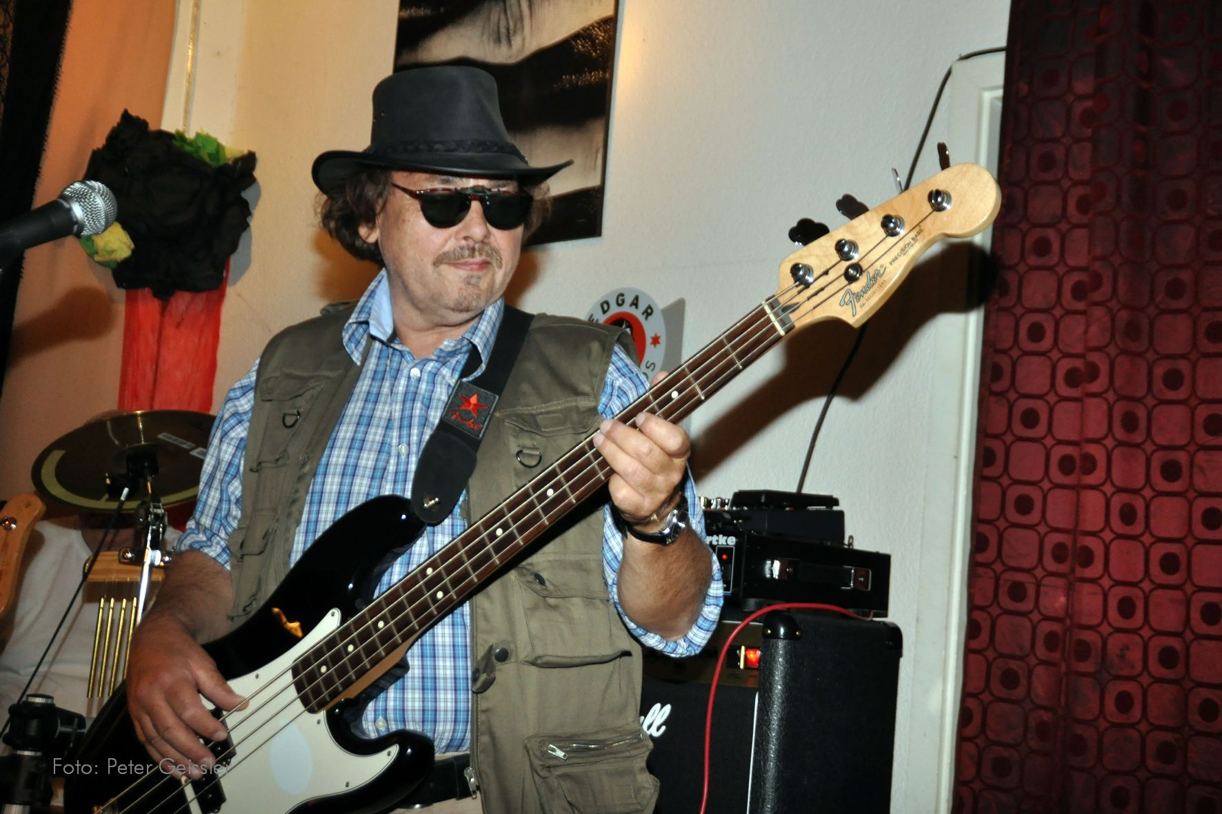 Andreas am Bass